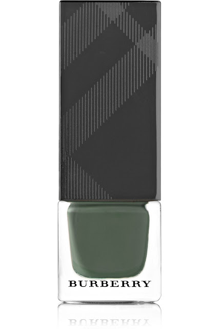 burberry green nail polish, burberry cadet green,