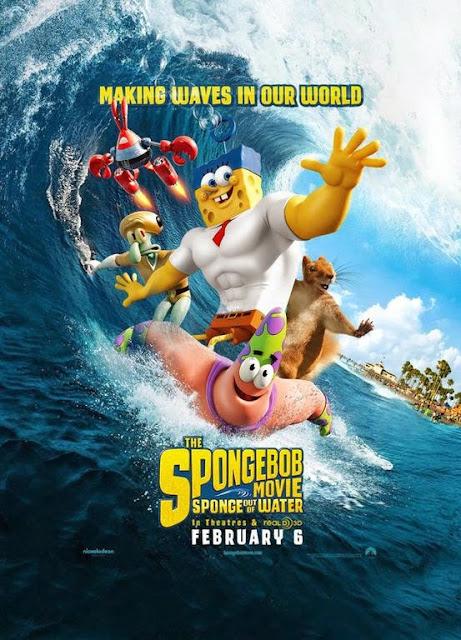 Bob Esponja: Un Heroe Fuera del Agua [2015] [1080p] [Latino]