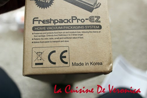 La Cuisine De Veronica 韓國Eiffel Freshpack Pro 食物抽真空機