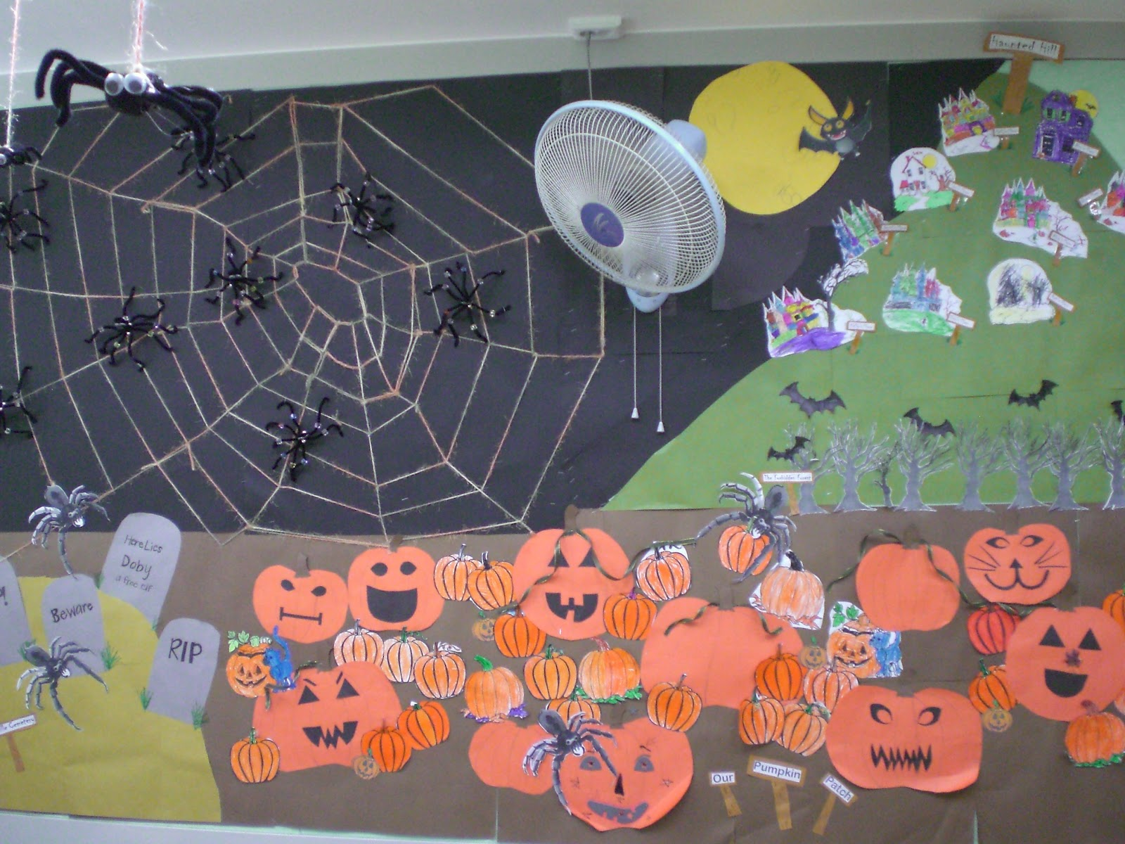 hope you enjoyed the diy halloween classroom decorations