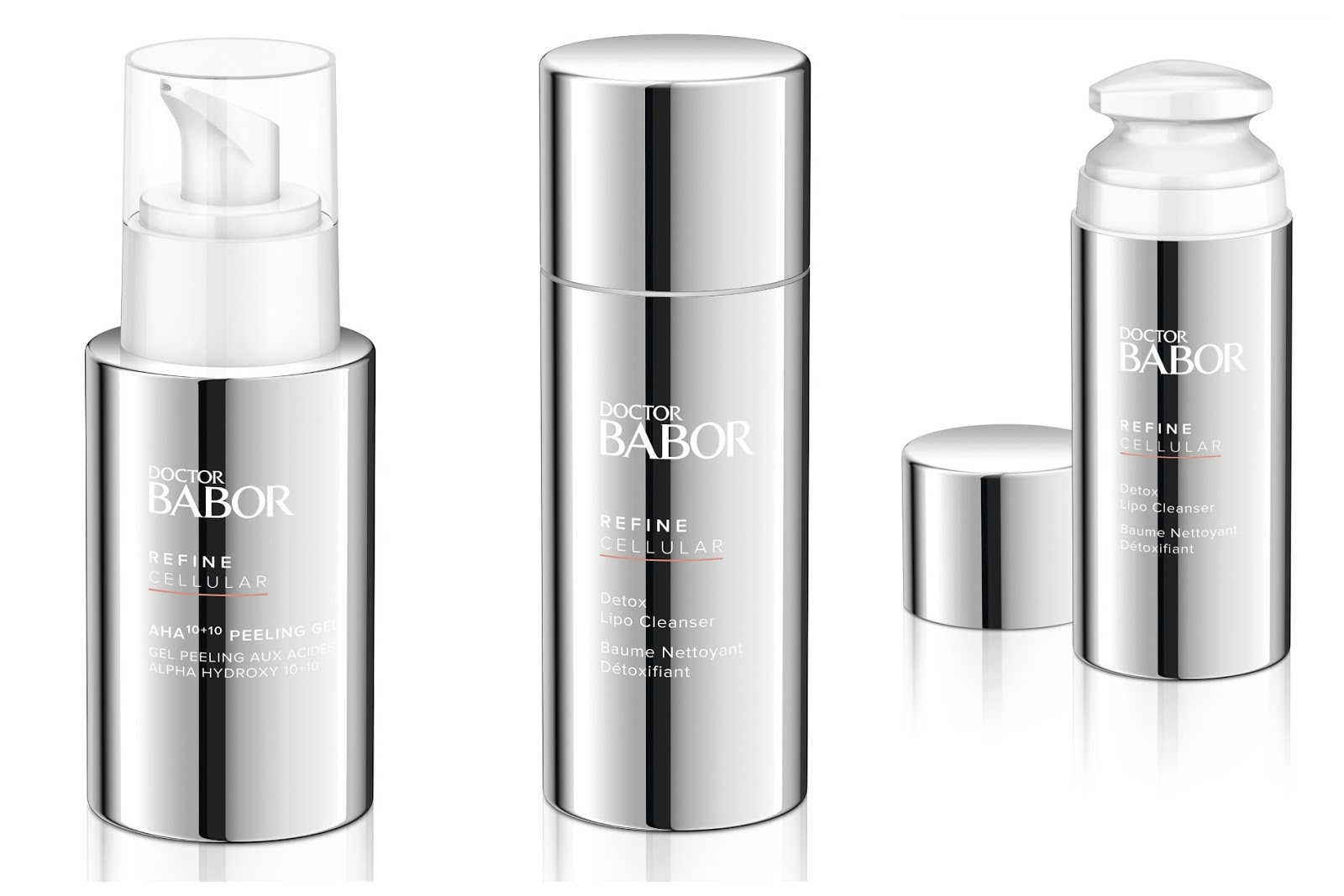 Babor Detox Lipo Cleanser en AHA 10+10 Peeling Gel