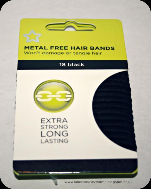 Drugstore Hair & Make Up Haul // Metal Free Hairbands from Superdrug // www.lukeosaurusandme.blogspot.co.uk