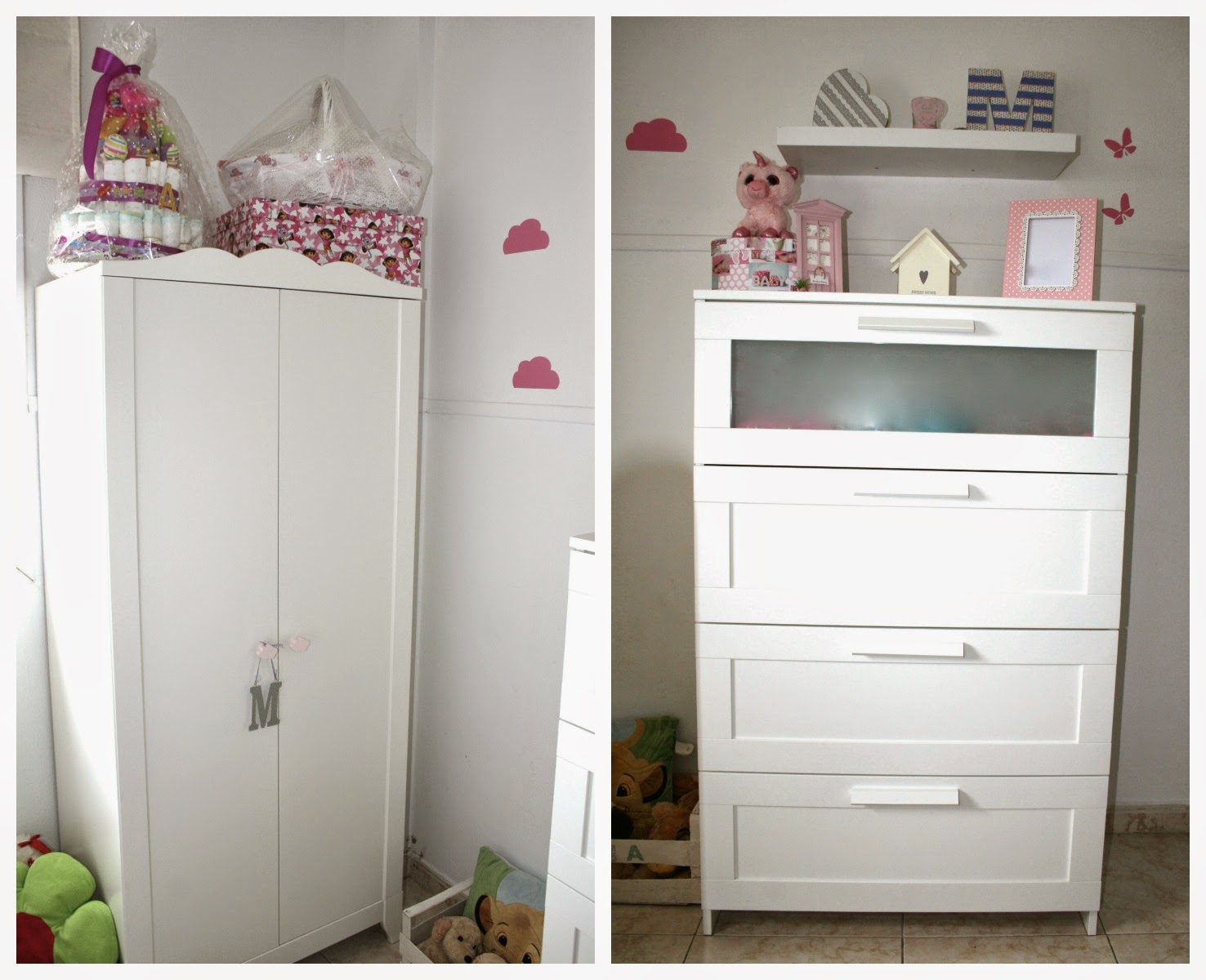 Fashion from the paradise my baby room for Muebles kiabi