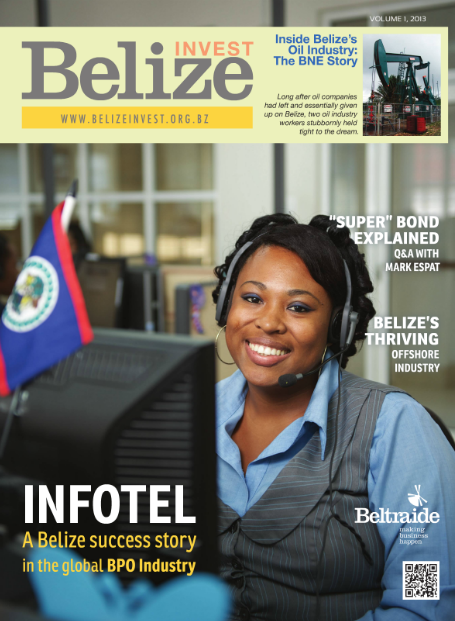 Invest Belize Magazine First Issue [COVER]