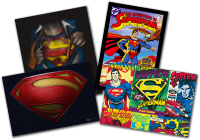 Superman, Man of Steel Posters