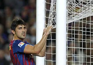 David Villa vive su peor temporada en el Barcelona