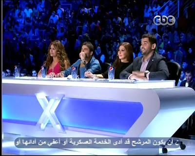 برنامج إكس فاكتر الحلقة السابعه  7  - حلقة يوم الخميس 14-3-2013