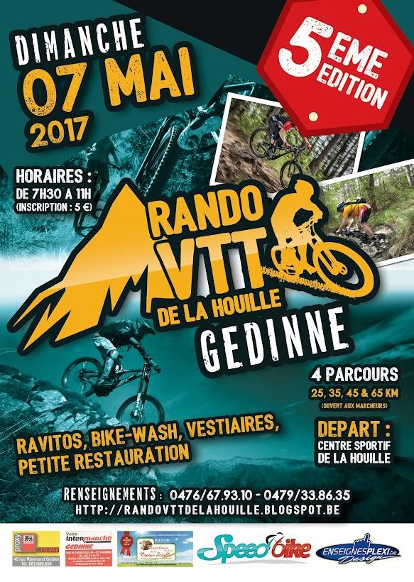 Rando VTT de la Houille - Gedinne