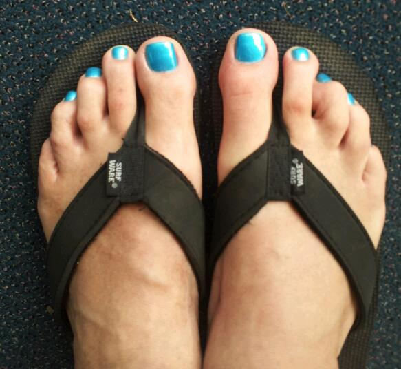 Men And Nail Polish: Teal Toes! OPI _ Teal The Cows Come Home