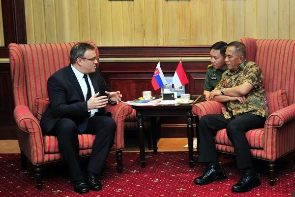 Slovakia Ingin Tingkatkan Kerjasama Pertahanan dengan Indonesia