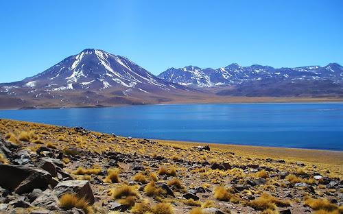 Laguna Minisques, Atacama, Chile