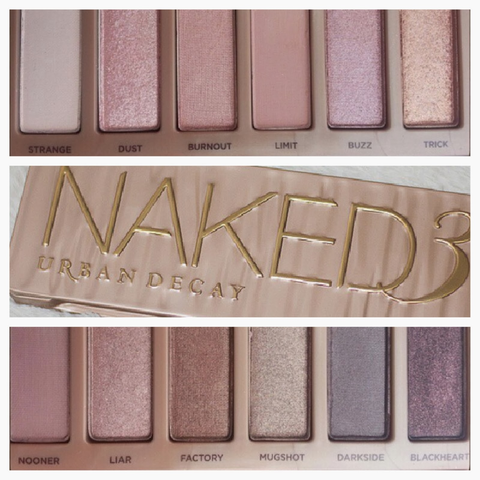 the lipglossary urban decay naked palette 3. Black Bedroom Furniture Sets. Home Design Ideas