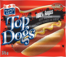 100% Angus Beef Top Dogs