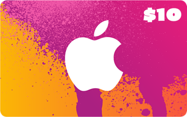 Apple - $10 Itunes Gift Card