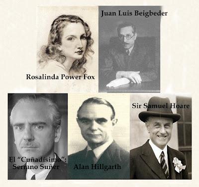 Personajes históricos de la novela