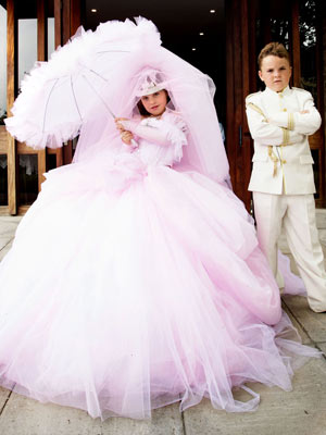 Flower girl dresses and boy's suits Baby clothing, christening