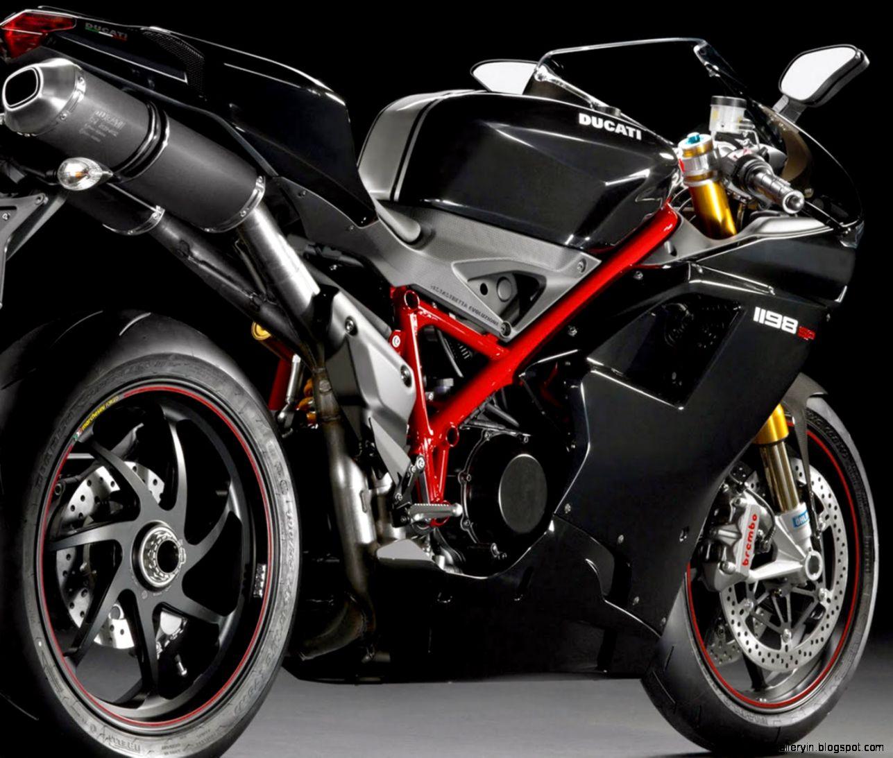Superbike Ducati 1198 SP Rear View Wallpaper D 13912 Wallpaper