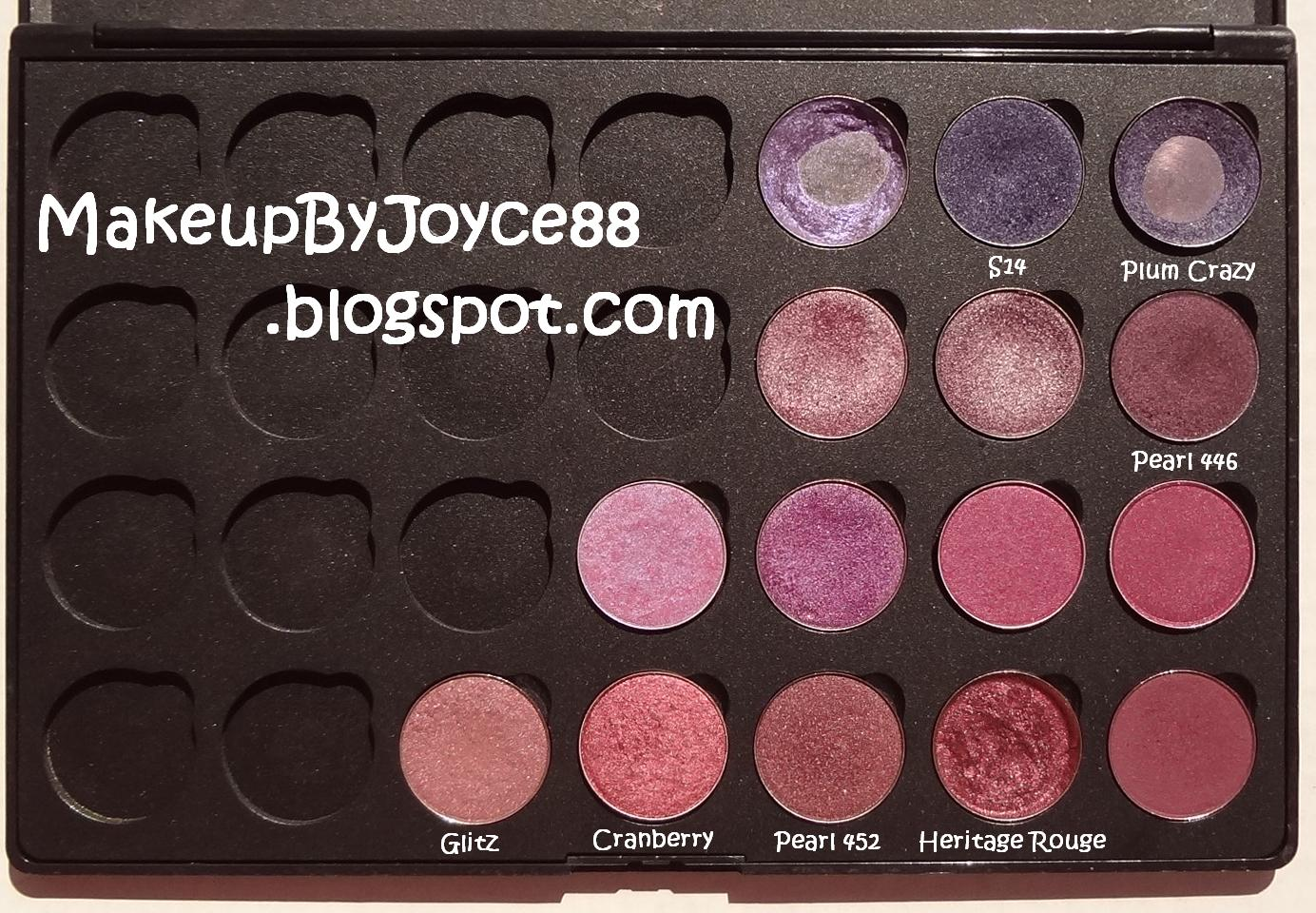makeupbyjoyce eyeshadow swatches amp comparisons