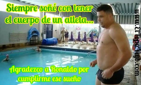 Ronaldo gordo (humor)