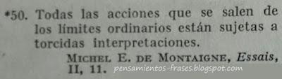 frases de Michel E. de Montaigne