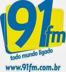 ouvir a Rádio 91 FM 91,5 Leme SP