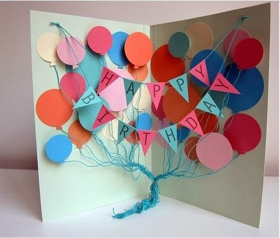 Popular DIY Crafts Blog How to Make Your Own Birthday Cards – I Want to Make a Birthday Card