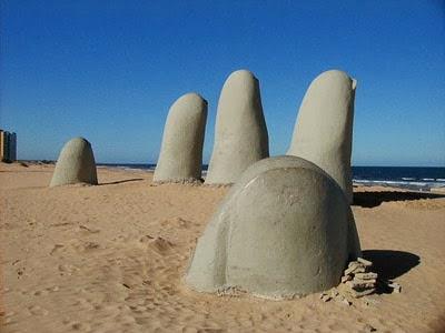 Brava Beach in Punta Del Este