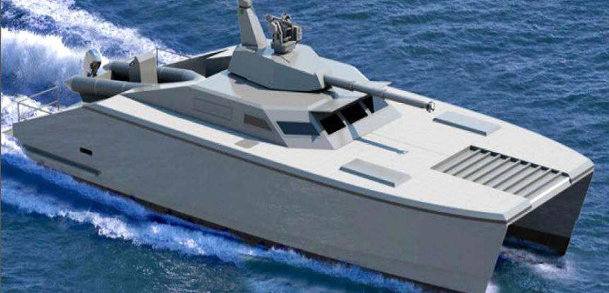 Tank Boat X18 Buatan PT Lundin