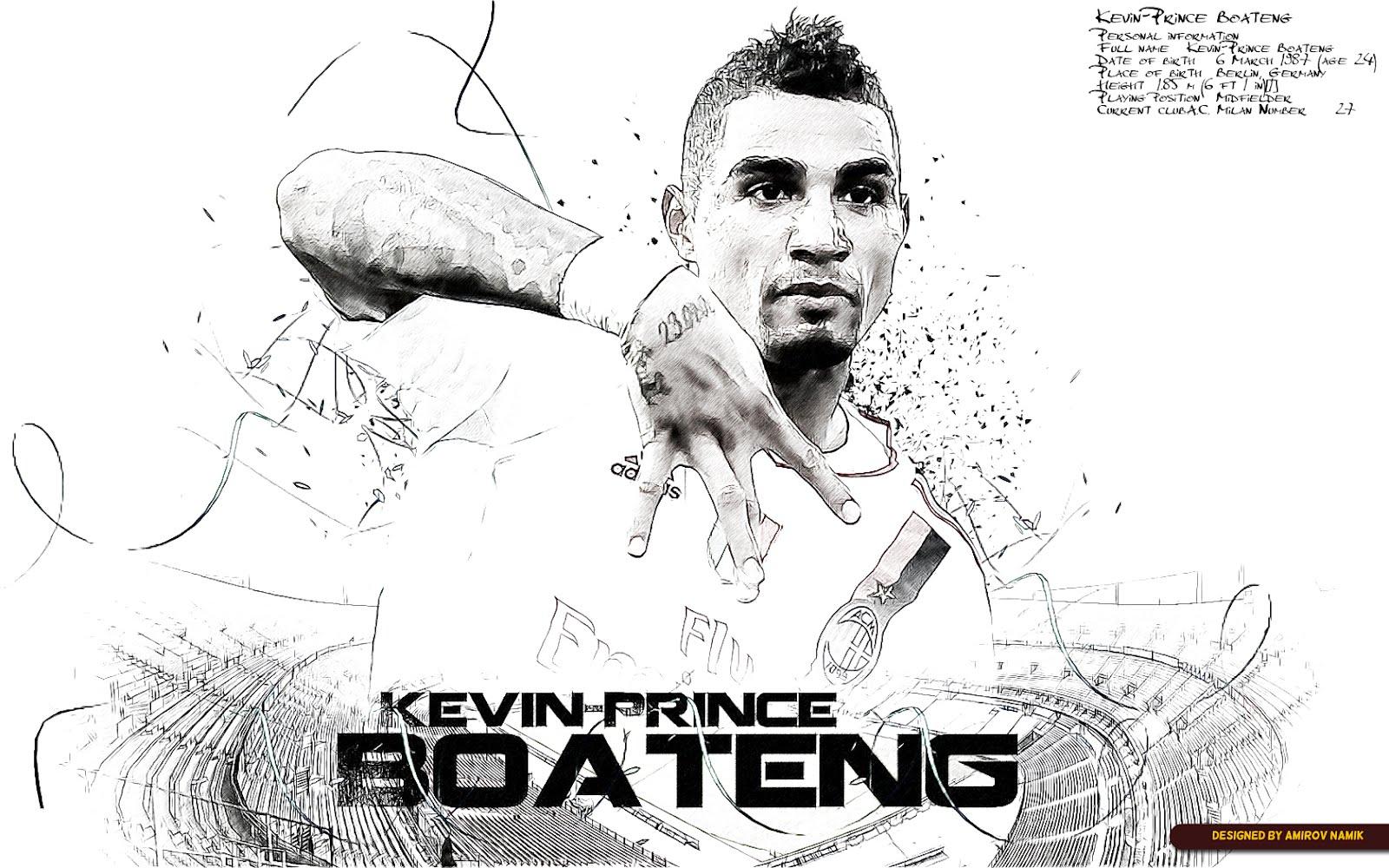 Cartoon Prince Boateng