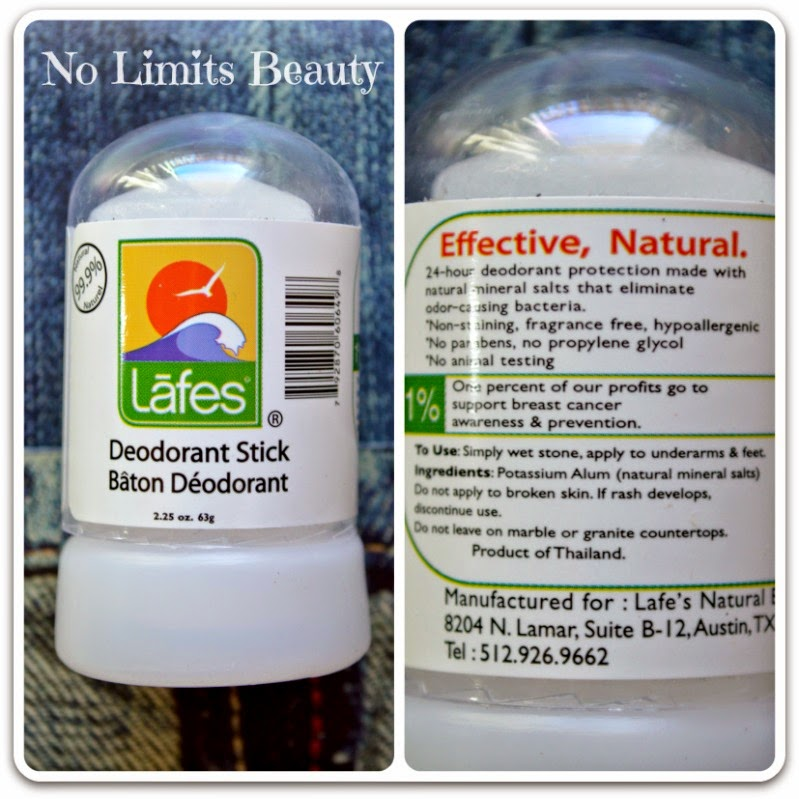 Lafe's Natural Body Care, Deodorant Stick