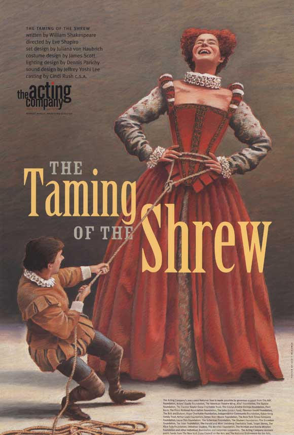 the theme behind william shakespeares the taming of the shrew The taming of the shrew,  which also advances a more non-traditional theme when it comes to dealing  more in line with william gouge and.