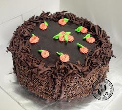 kek coklat moist