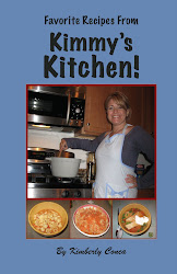 Kimmy&#39;s Recipe book is here!