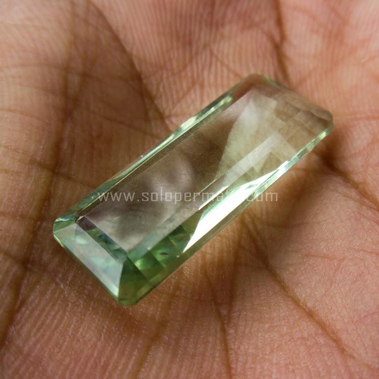 Batu Permata Prasiolite - SP524