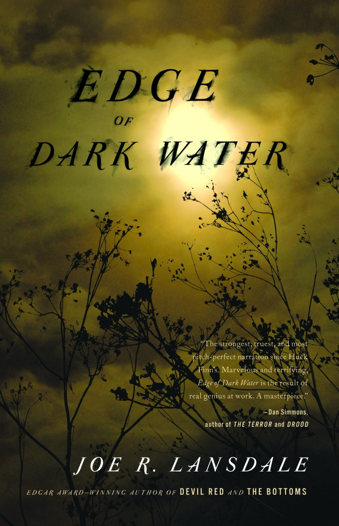 Joe Lansdale's new novel, Edge of Dark Water, can be characterized as ...