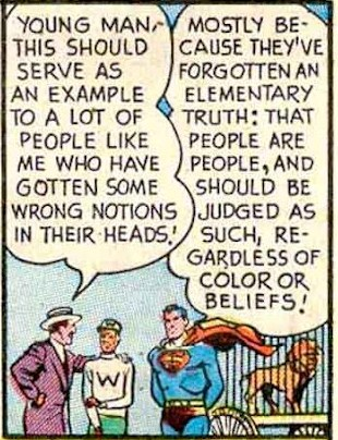SUPERMAN SAYS...