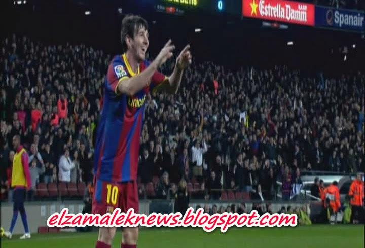 ليونيل ميسي صانع ألعاب وهداف برشلونة الأرجنتيني الدولي
