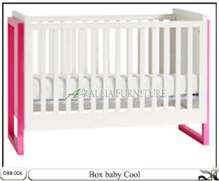 Tempat tidur bayi box balita cool