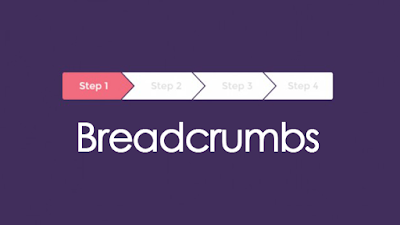 cara membuat breadcrums seo, apa itu breadcrumbs, letak breadcrumbs, pengertian definisi breadcrumbs