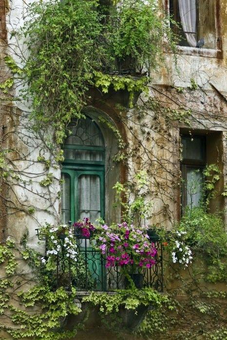 Romantic and Beautiful Balcony 7