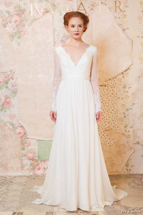 2016 Spring Wedding Dresses by Ivy & Aster