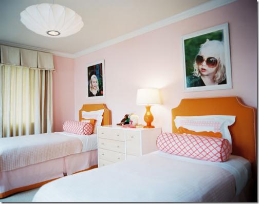 inspiring-bedrooms-design-For-Girls-Pink-Orange-Bright-Girls-Bedrooms
