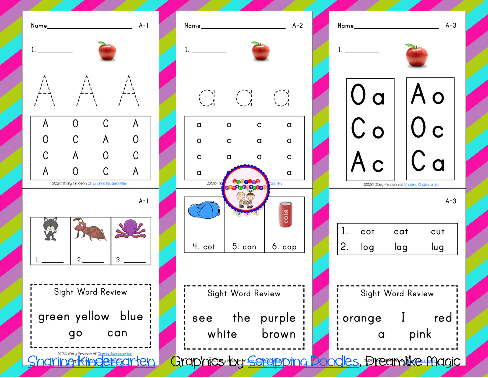 Worksheet Phonics For Kindergarten recipe for reading sharing kindergarten reading
