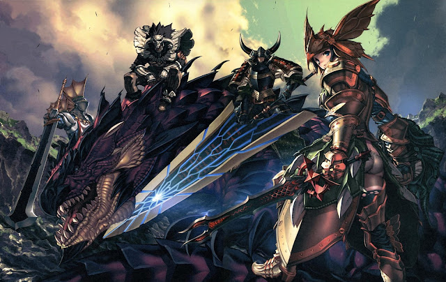 fantasy knight dragon sword armor fantasy warrior hd wallpaper desktop pc wallpaper a75
