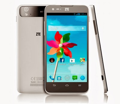 ZTE Grand S Flex, Smartphone Jelly Bean Layar HD Kamera 8MP