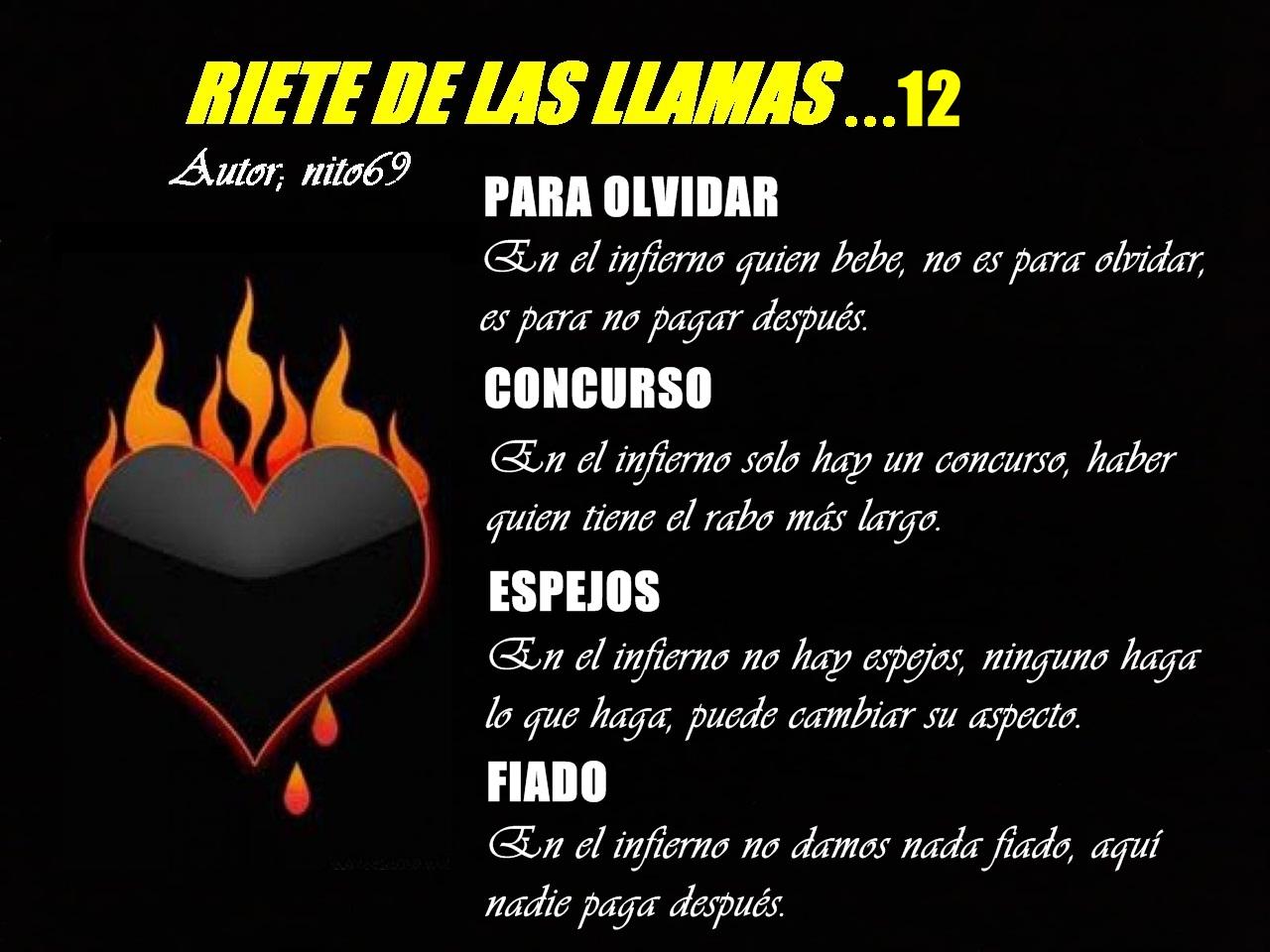 RIETE DE LAS LLAMAS...12