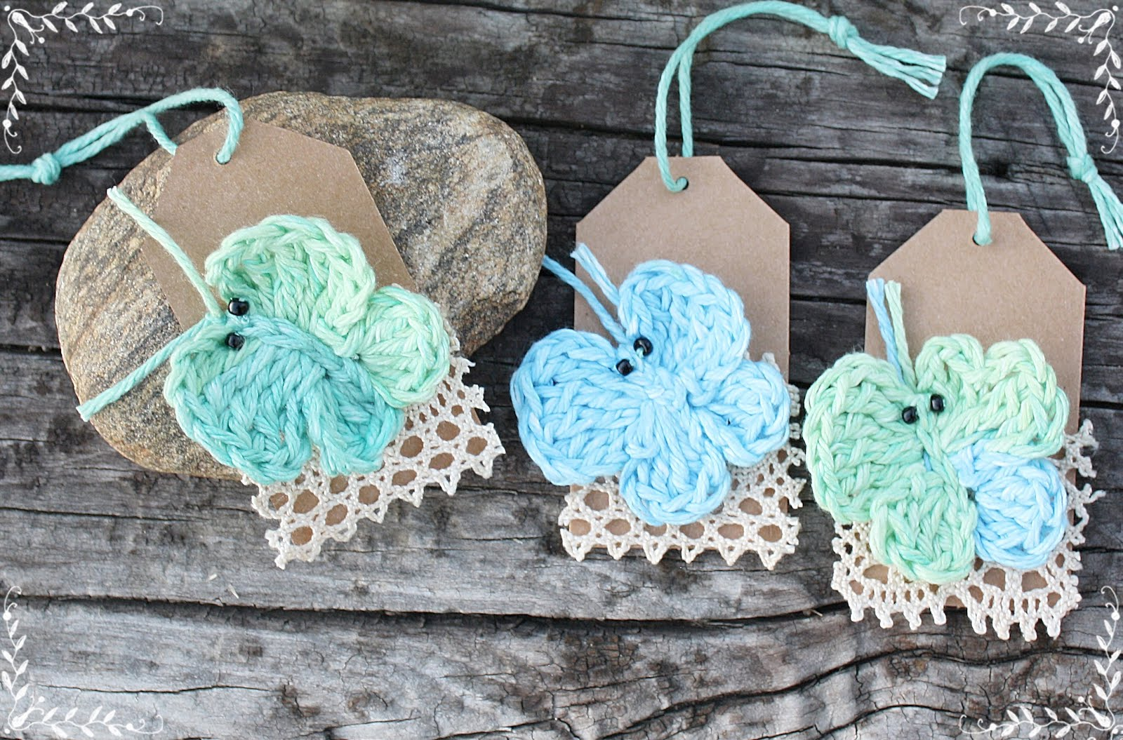 Butterfly Hang Tags
