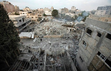 The devastating images in the Gaza Strip