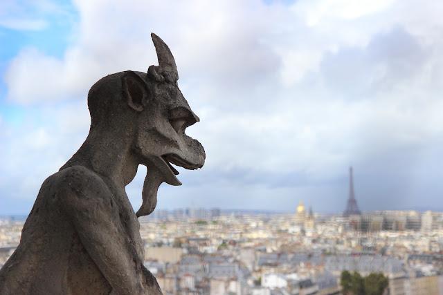 Gargoyle di Notre Dame