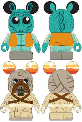 Disney Vinylmation Star Wars Series 2 Teaser Images - Greedo &amp; Tusken Raider